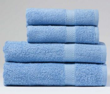 Incredibly Cheap, Indulgence 450gsm Hand Towel in Sky Blue